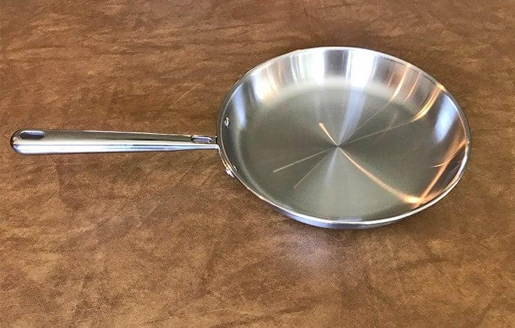 Misen 10 inch stainless steel skillet