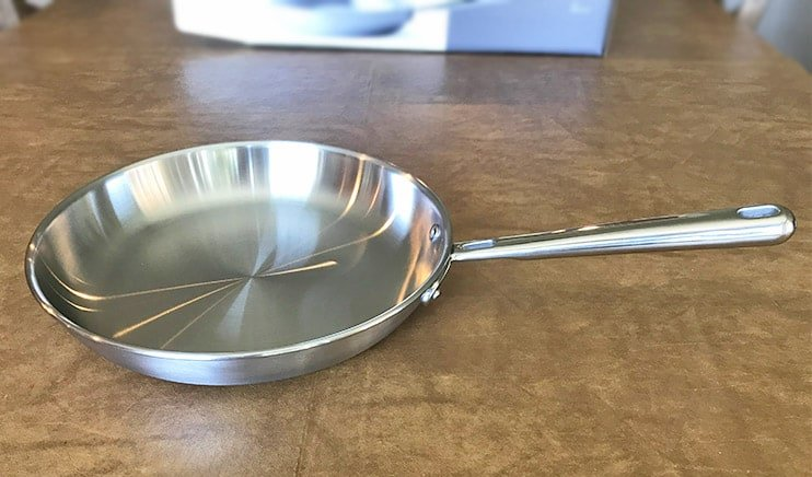 Misen stainless steel pan review