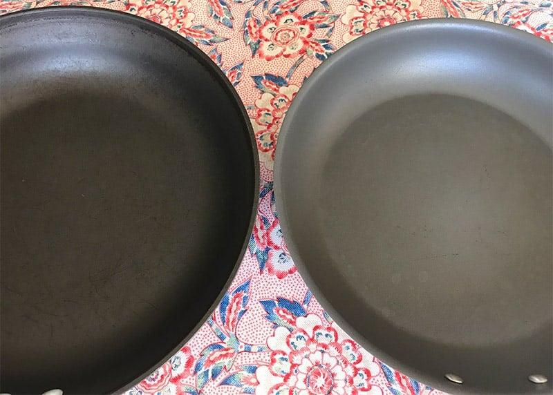 hard-anodized versus aluminum non-stick cookware