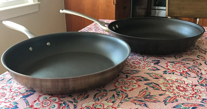 hard-anodized versus non-stick cookware