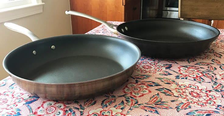 hard-anodized versus stainless steel non-stick cookware