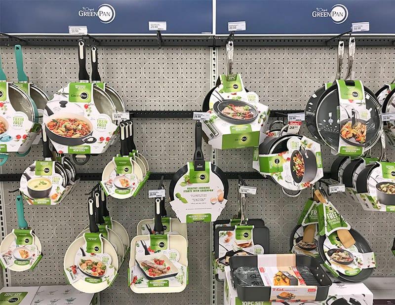 GreenPan product offerings