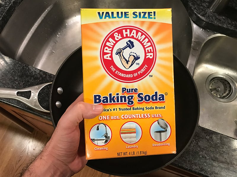 How to Clean Calphalon Hard Anodized Cookware With Baking Soda