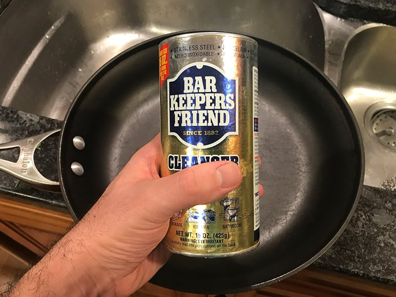 How to Clean Calphalon Hard Anodized Cookware With Bar Keepers Friend