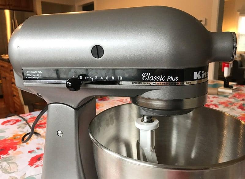 KitchenAid Mixer Speed Settings