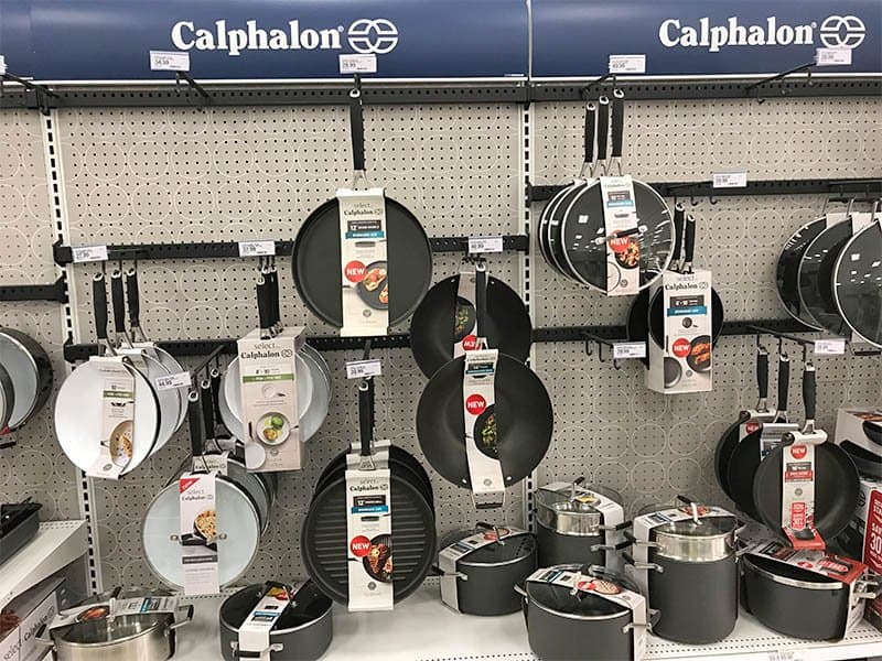 Calphalon Cookware on Display