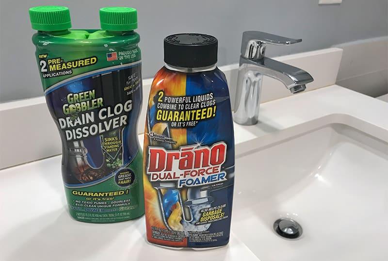 Green Gobbler versus Drano