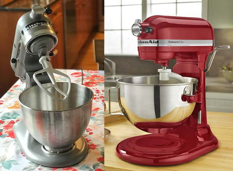 KitchenAid Tilt-Head versus Bowl-Lift Mixers