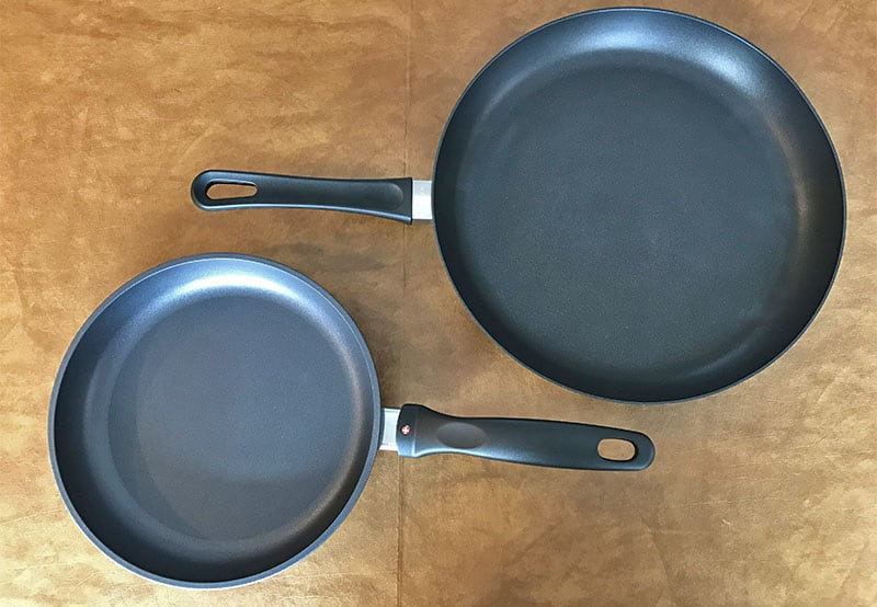 Scanpan versus Swiss Diamond Cookware