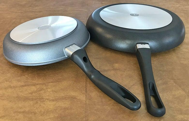 Scanpan versus Swiss Diamond_Bottom of Pan