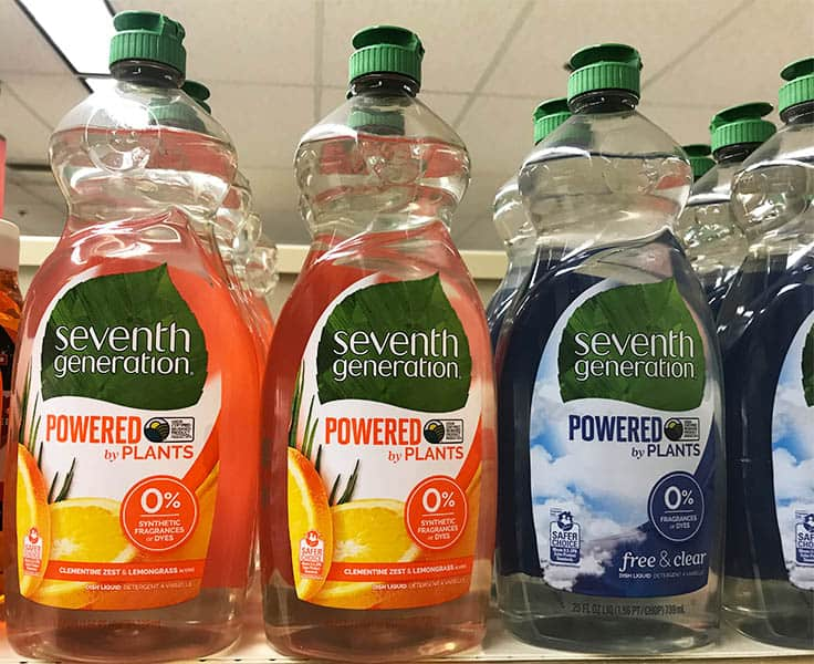 Seventh Generation Dish Soap Packaging