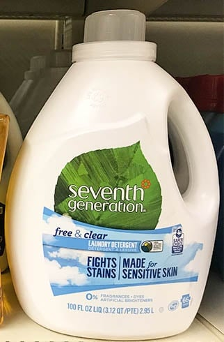 Seventh Generation Free and Clear Laundry Detergent