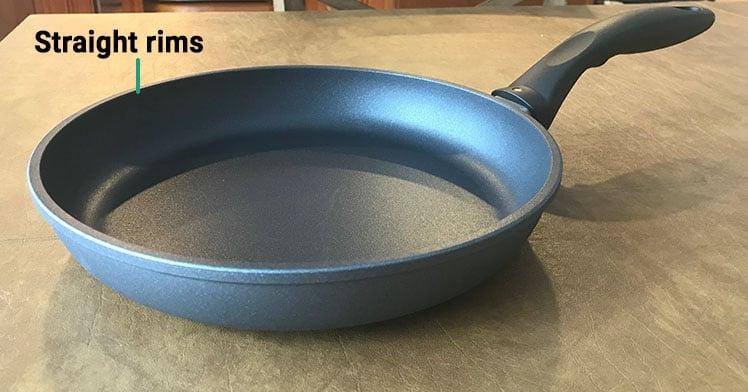 Swiss Diamond HD Classic Frying Pan Straight Rims