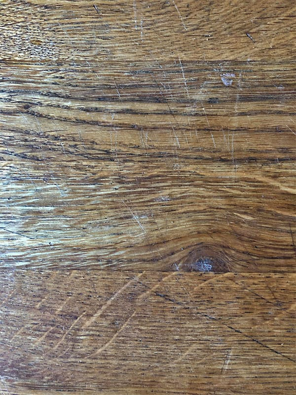 wood countertops scratches