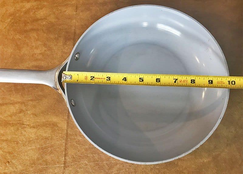 10 inch pan