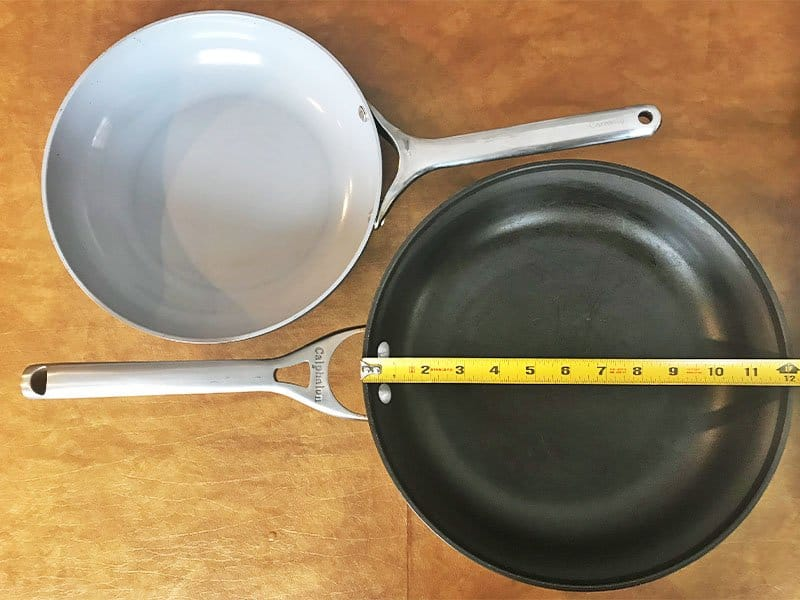 10 versus 12 inch pan