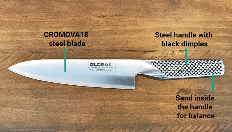 Global Kitchen Knives Construction
