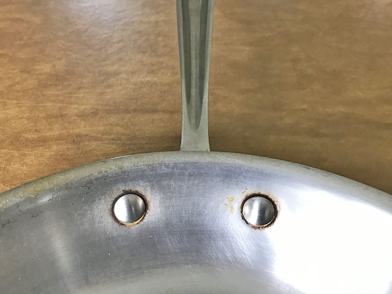 All-Clad rivets