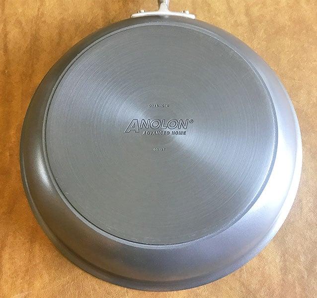 Anolon Advanced Home Frying Pan Bottom
