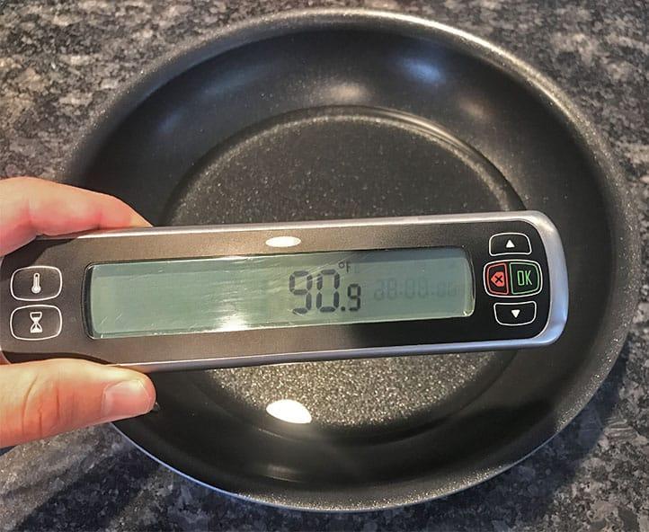 Anolon cookware heat retention after ten minutes