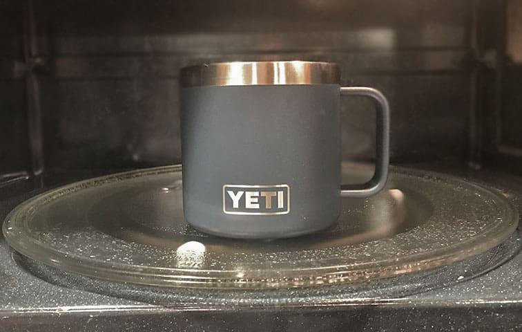 Are Yeti mugs microwave-safe