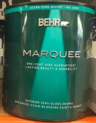 Behr Marquee One Gallon Paint Can