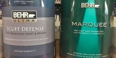 Behr Ultra vs. Marquee Paint: What's the Difference?