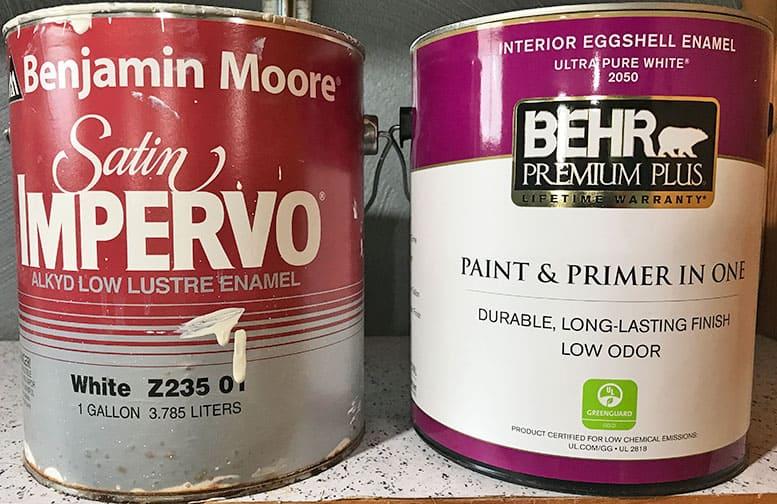 Behr versus Benjamin Moore