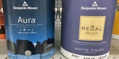 Benjamin Moore Regal Select vs. Aura: What's the Difference?