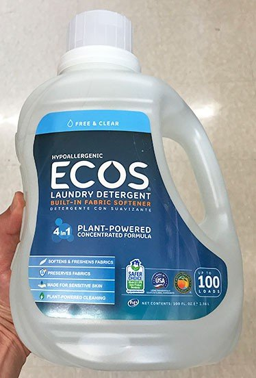 Best Alternative to Norwex_Ecos Laundry Detergent