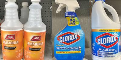 Ammonia vs. Bleach: Uses, Safety, Pros, Cons