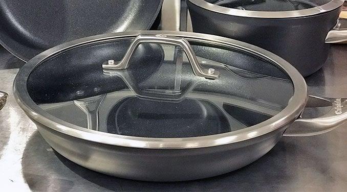 Calphalon tempered glass lids