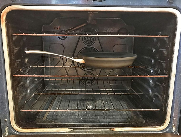 Can you put a non stick frying pan in the oven