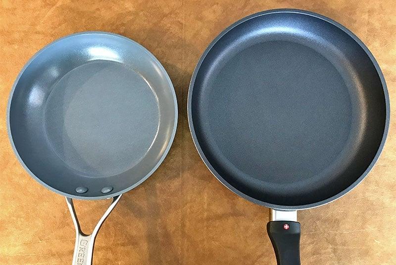 Ceramic non-stick cookware versus PTFE non-stick cookware