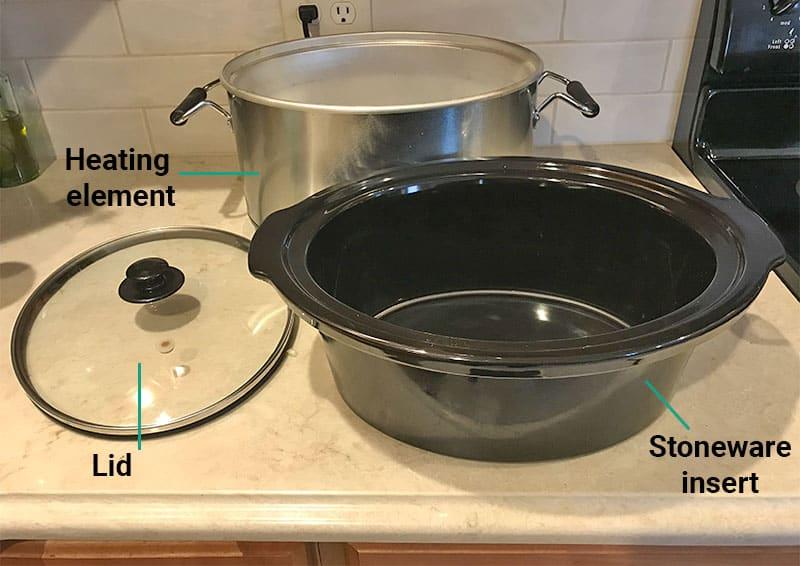 Crock-Pot oven-safe stoneware insert