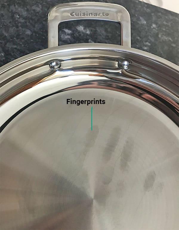 Cuisinart cookware fingerprints