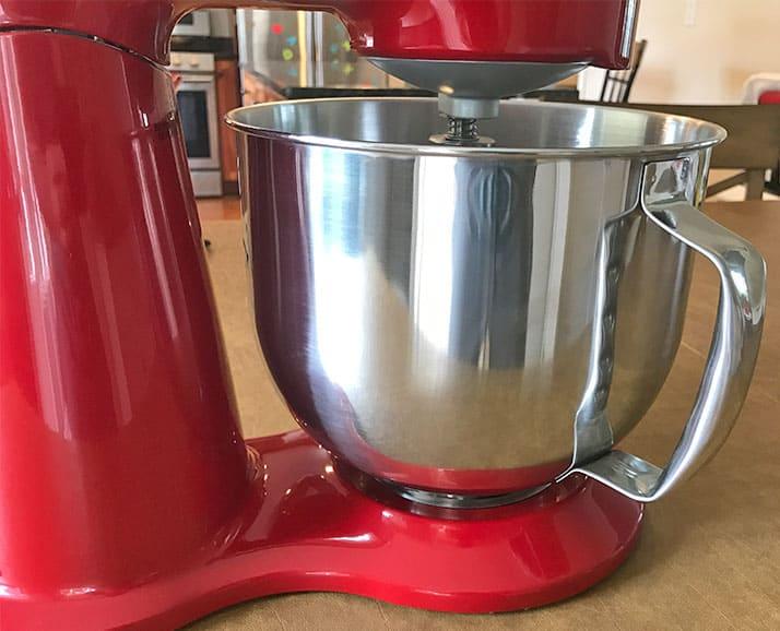 Cuisinart steel mixer bowl