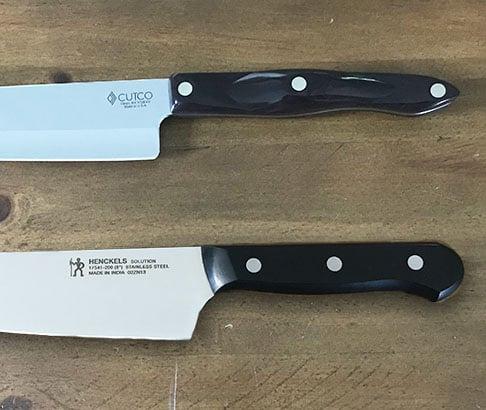 Cutco versus Henckels handles