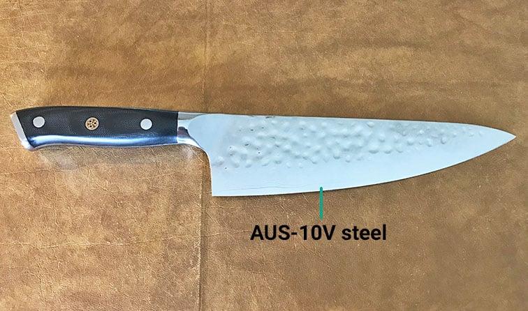 Dalstrong Shogun Series AUS-10V steel