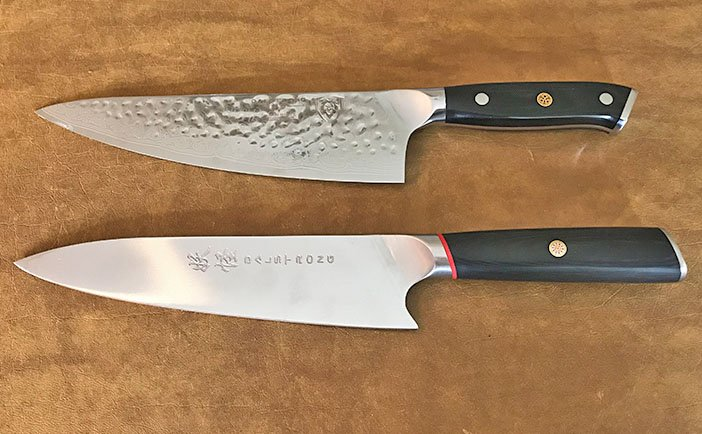 Dalstrong kitchen knives design