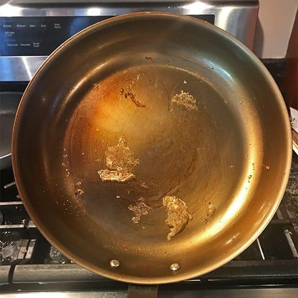 Food sticking to the Misen carbon steel pan
