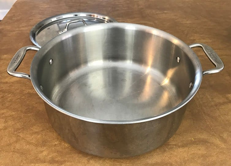 Fully-Clad Stainless Steel Stock Pot