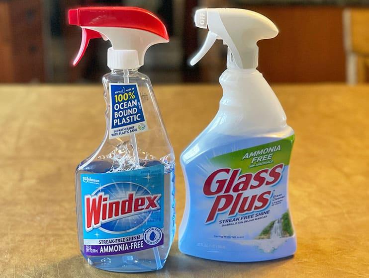 Glass Plus alternative to Windex