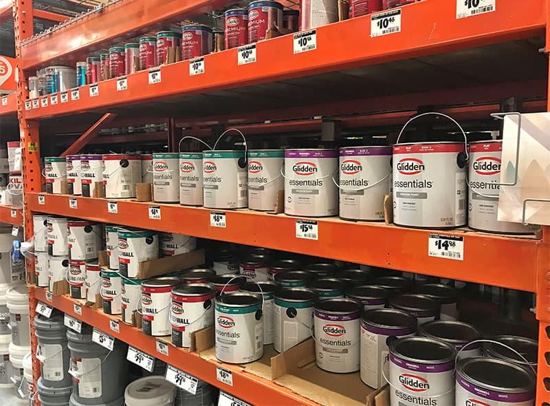 Glidden paint offerings