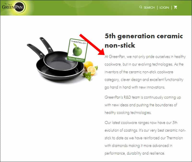 GreenPan Cookware Mission