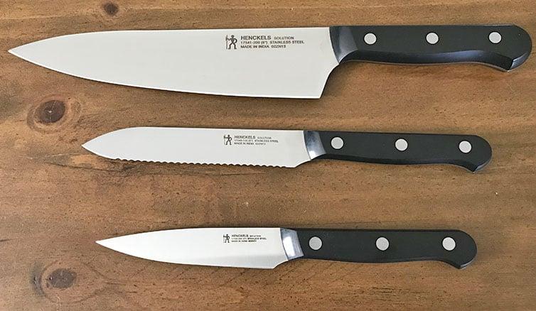 Henckels Solution Knives