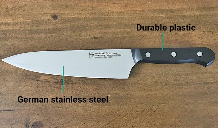 Henckels knife materials