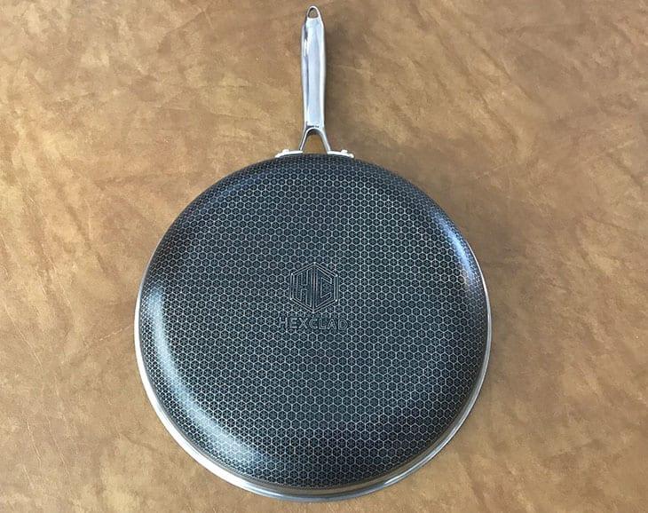 HexClad cookware exterior