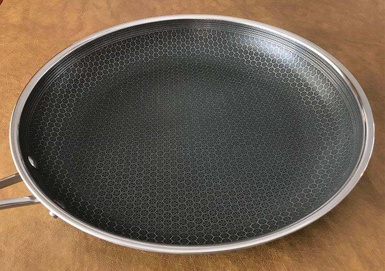 HexClad cookware interior