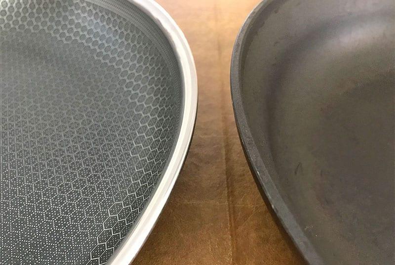HexClad versus Calphalon thickness